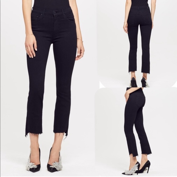 MOTHER Denim - MOTHER denim insider crop step fray not guilty